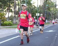ホノルルマラソン参加